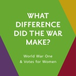 What difference did the war makes?