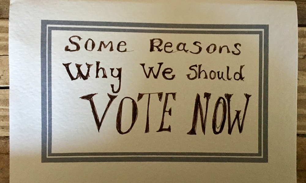 Reasons to vote